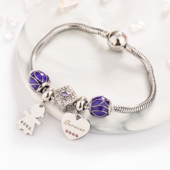 Pulsera en Acero Inoxidable  PBS-0006