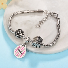 Pulsera en Acero Inoxidable  PBS-0038